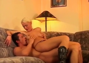 Sweet blonde slut adores hardcore incest