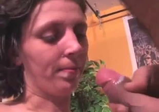 Young and hot sister gets two cumshots