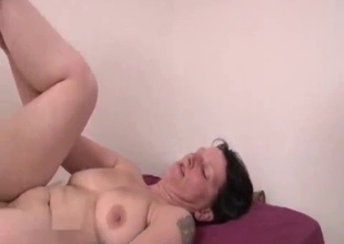 Real Russian mom bangs with her son for fun