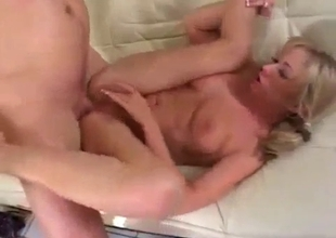 Big tit blonde has tried nasty anal incest